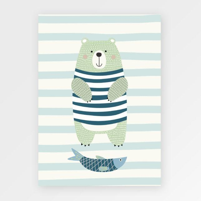 Medvěd Rybář 1