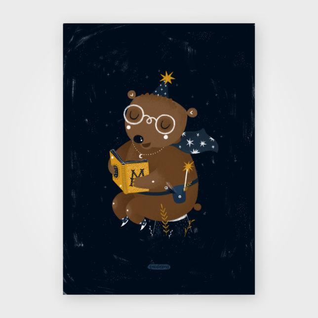 Medvídek kouzelník 1