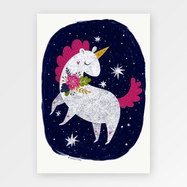 Unicorn girl 1