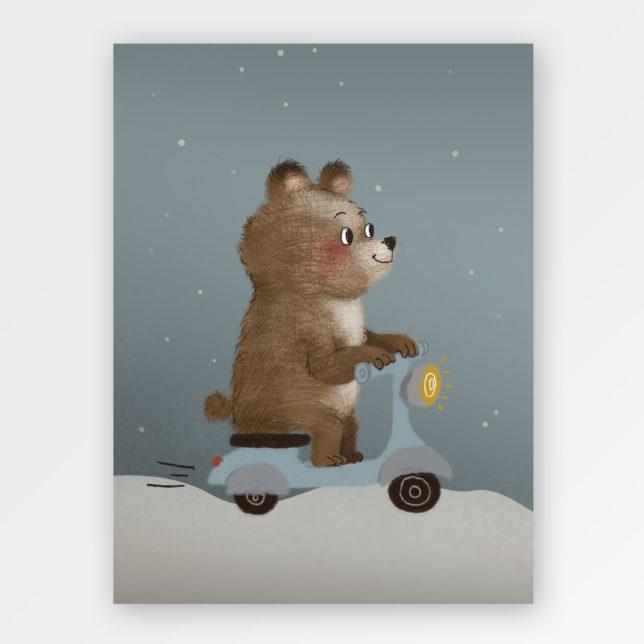Medvěd Motorkář 1