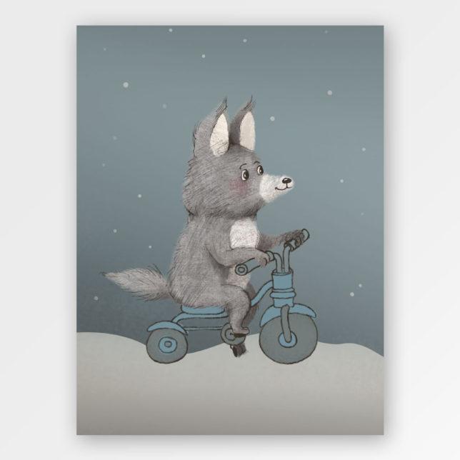Vlk závodník 1