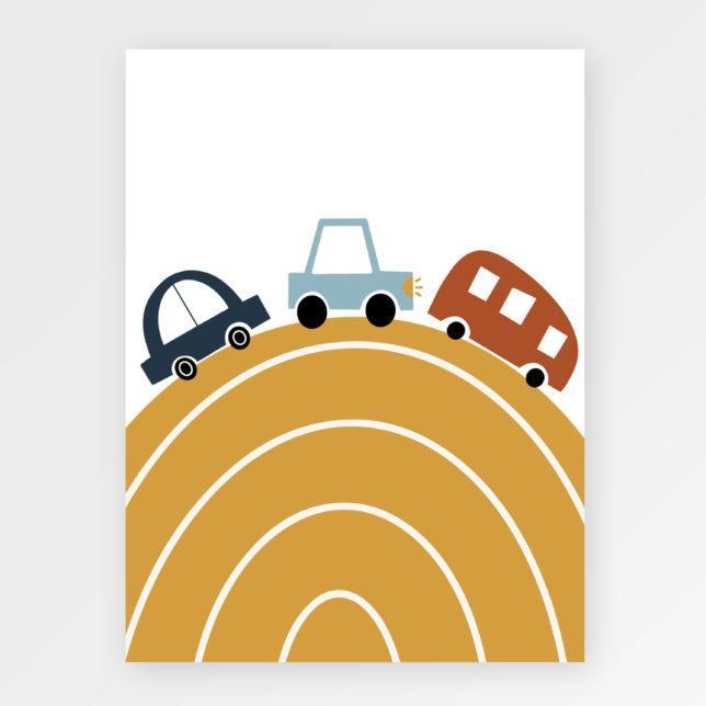 Auta na kopci 1