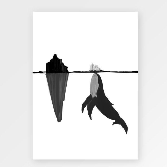 Velrybka a loď 1