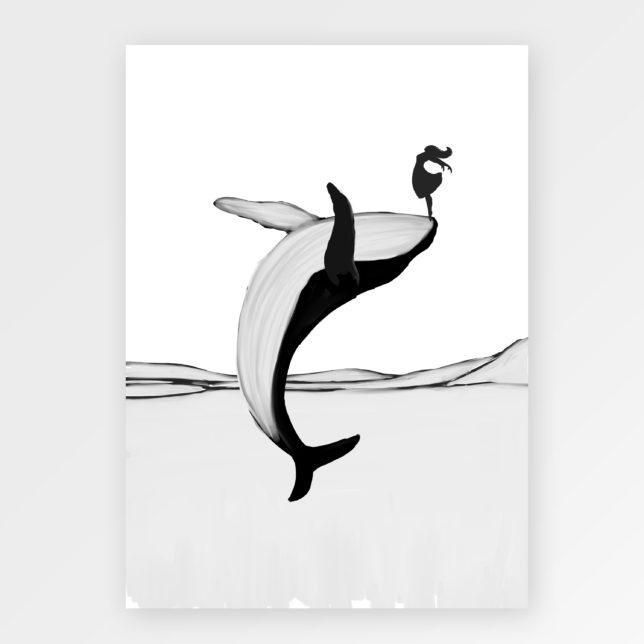 Velrybka tanečnice 1