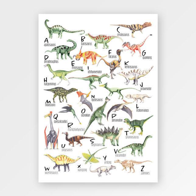 Dino abeceda 1