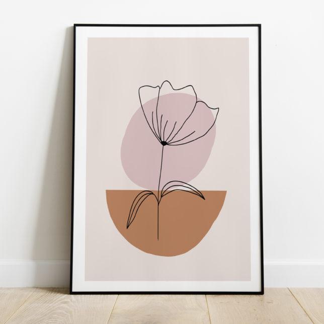 Kameny a květina 2