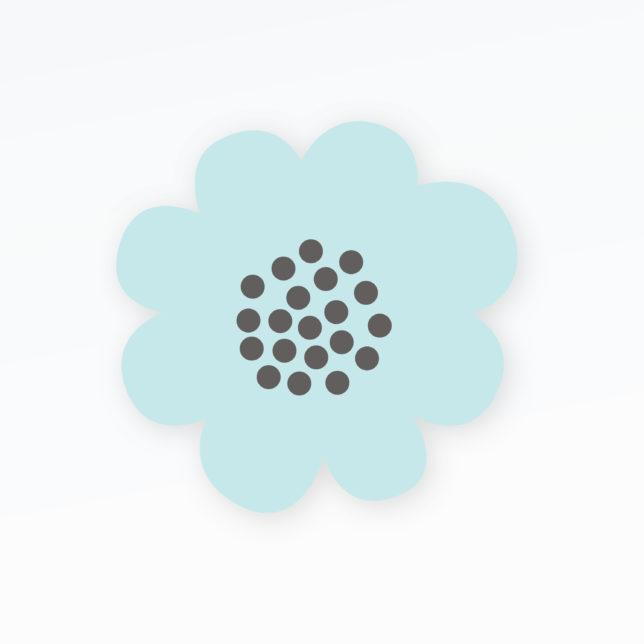 Kytička s puntíky 1