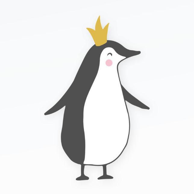 Tučňák princezna 1